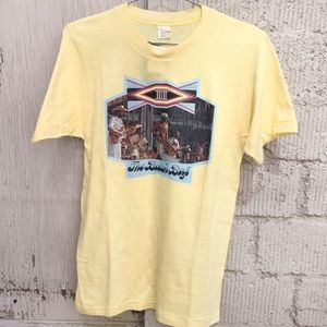 Other - VINTAGE Beach Boys Yellow Band T-Shirt